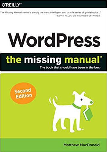 WordPress Missing Manual Book Cover