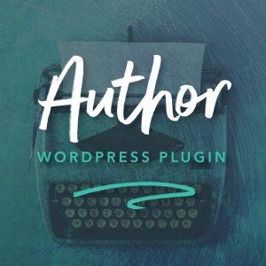 Author WordPress Plugin Product Image