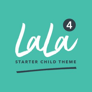 LaLa WordPress Starter Child Theme 4 Product Image